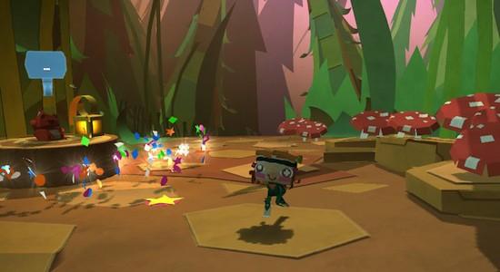 Pappersvärld? Check! Gulliga djur? Check! Ett spel som faktiskt använder Vitans många tekniska gimmickar till något vettigt? Check!