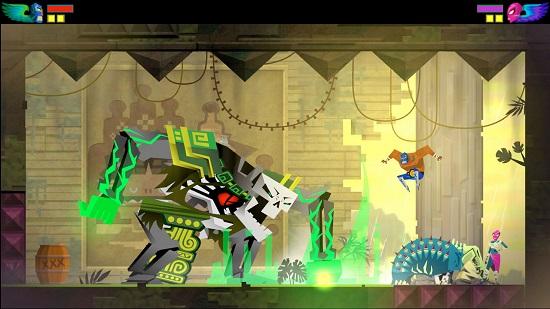 Många tror att det är ett plattformsspel, men Guacamelee! är i själva verket en autentisk wrestlingsimulator.