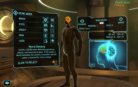 En av nyheterna är att dina soldater nu kan genmodifieras och på så vis sparka rymdrumpor ännu hårdare.
