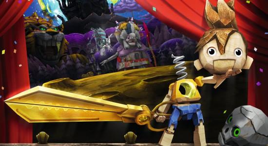 Johan skulle ge sitt huvud för att återfå sina sparfiler till Dark Souls. Istället blir det dockteater på schemat.