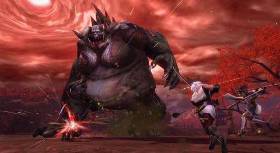Toukiden bangar inte för enorma monster i knäppa miljöer.