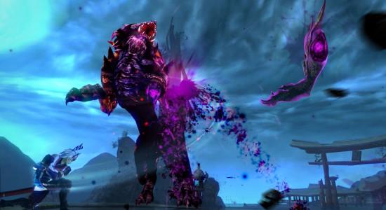 Striderna med de stora demonerna är helt klart spelets höjdpunkt.