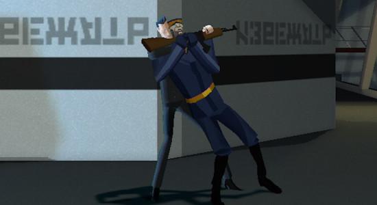 Även spioner behöver en kram då och då.