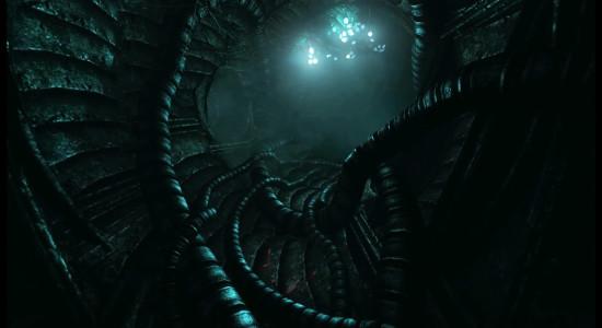 Detta påminner om det övergivna skeppet i Aliens. Vad kan gå fel?