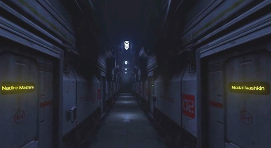 En lång, taskigt upplyst korridor? Den måste jag ju utforska!