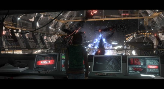 Det här ser inte bra ut...om vi nu inte är på väg in i hyperspace!