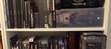 Sveriges största Dark Souls- och Bloodborne-samling?