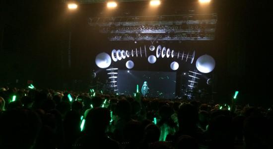 En ensam Diva på scen och så många, japanska hjärtan som bultar!