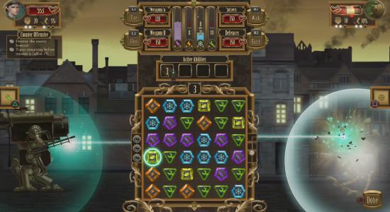 Bejeweled är ju kul, och därför bör Bejeweled med robotar vara ännu bättre.