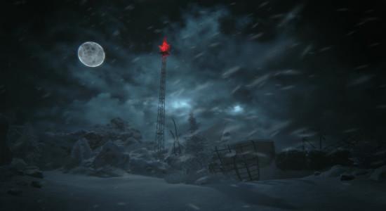 Självklart måste jag ta mig till det där tornet som ser så läskigt ut!