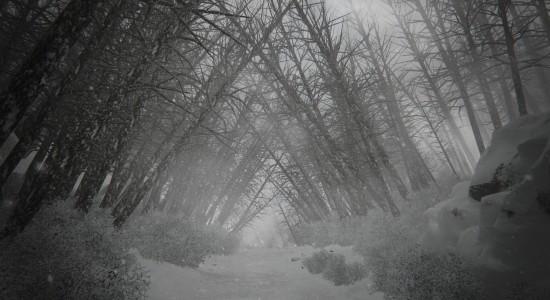 Är det normalt att träden växer så här? Var det ett morrande jag hörde bakom mig? Hjälp!