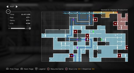 Kartan blir snabbt komplex