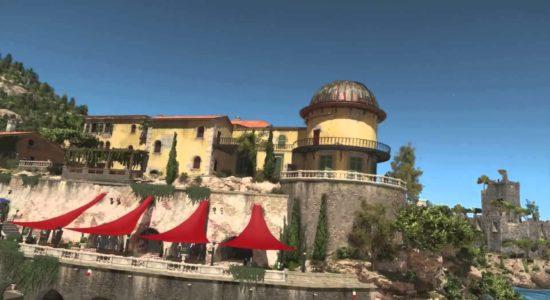 Det är väl fullt normalt att ett hus är utrustat med observatorium?