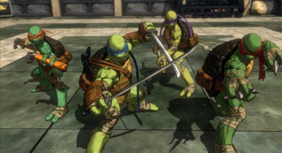 De muterade tonårsninjasköldpaddorna är tillbaka!