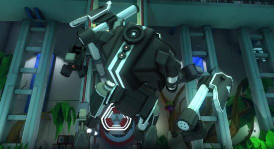 Spelets boss påminner mest om en förvuxen robothund