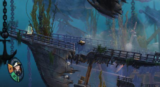 Enorma fartygsvrak är en vanlig syn i den här delen av havet