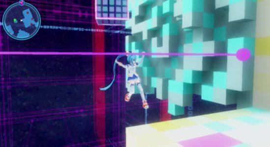 Weeee! Jag kan klättra, OCH jag ser ut som Hatsune Miku. GOTY?