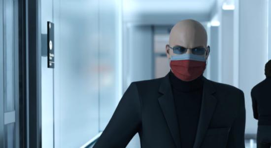 Agent 47 är noga med hygienen när han har ihjäl folk.