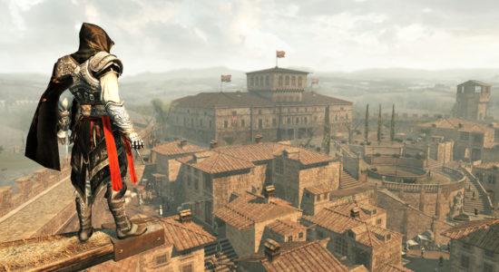Ezio är på väg hem till villan och kom på att det är hans tur att skura golven.