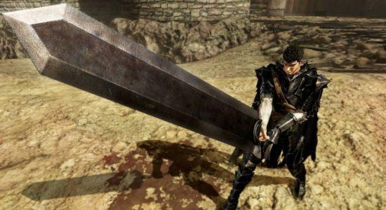 ...när du tycker att svärden i Final Fantasy är alldeles för små...