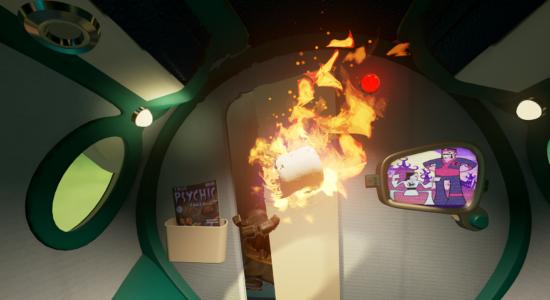 Inget slår klassikern att elda upp en toarulle!