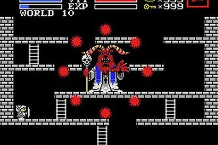 Dags att besegra den absolut sista bossen i labyrinten!