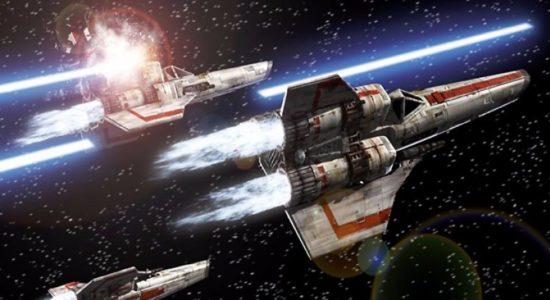 Frågan är bara hur spelmotorn ska orka med rymdstriderna...