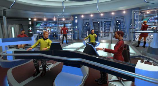 En av spelets mindre livliga bilder. Utan VR