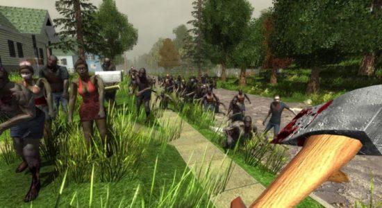 Ett drömscenario just nu. Över 50 zombier på ett och samma ställe...