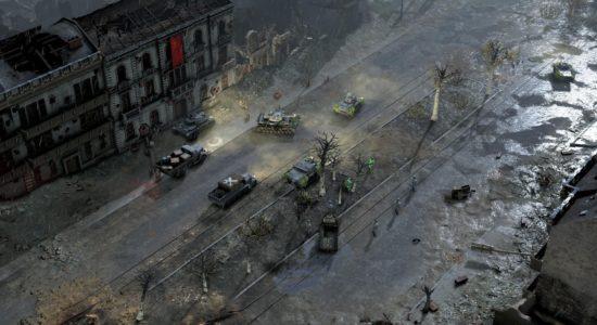 När ammunitionen tog slut, anföll Benke med det näst bästa; helljuset på lastbilen!