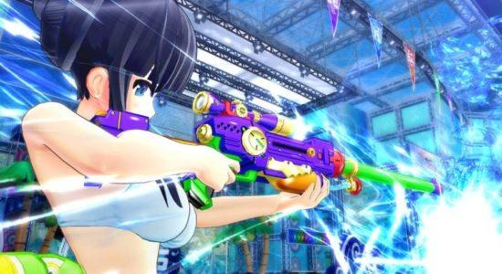 Självklart finns det prickskyttegevär och granatkastare, det är ju trots allt vattenkrig!