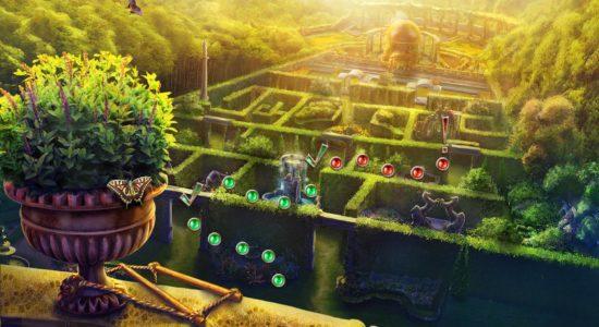 Ett av de nya segmenten där jag ska leta efter prinsen i en labyrint