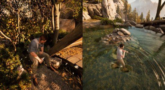 Att fiska och tälja träfigurer är en bra avkoppling. Bättre än att skaka galler i alla fall