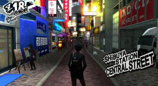 Krille använder Persona 5 som ett sätt att minnas Shibuya