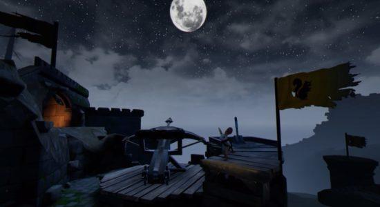 Förutom ett storslaget äventyr, bjuder spelet även på storslagna vyer