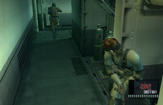 Fast egentligen var det förstås inte bara grafiken utan även Solid Snakes fräcka repliker som Johan föll för.