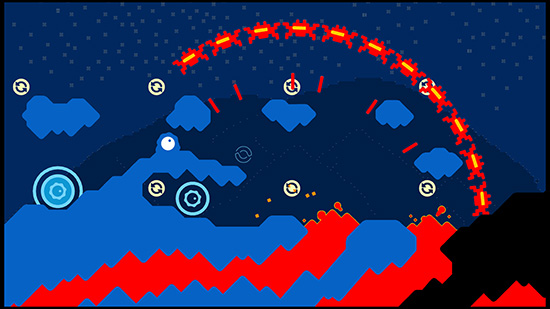 Sound Shapes är ett av de spel som passar allra sämst att spela med ljudet avstängt.