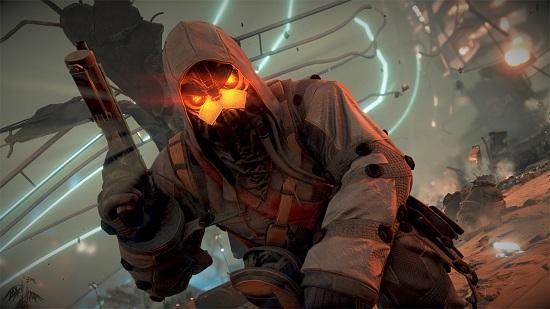 Vem är asond, har röda ögon och blir ständigt massmördad av en ensam jordbo? Helghast-soldaten så klart!