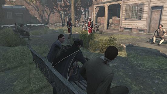 I Assassin's Creed mördar de inte bara digitala figurer. De mördar också min energi genom att gång på gång tvinga mig att sitta på en parkbänk och tjuvlyssna på krystade konversationer.