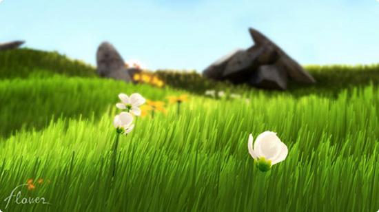 Flower är det andra i en trio nyskapande PS3-spel från thatgamecompany.