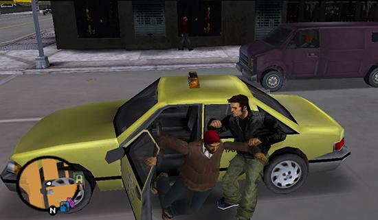 Nej, vet du vad. Det är så urbota roligt att köra taxi så att jag ska bemöda mig med att med våld stjäla en.