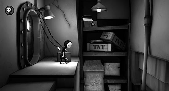 I PS Vita-spelet Escape Plan gäller det att rädda Lil och Laarg undan en rad knippor.