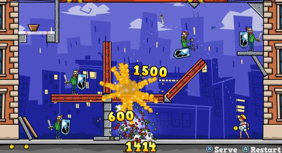 Äntligen lite explosioner och pengaregn, yippie!!!