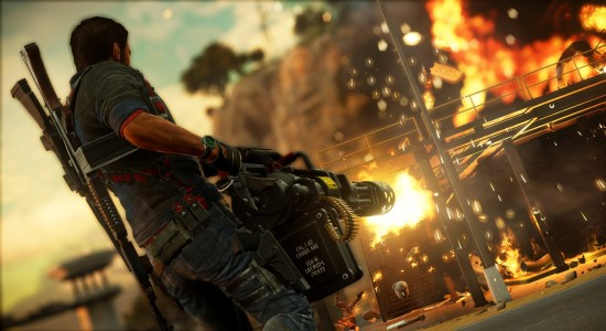 Taget från ett av smyguppdragen i spelet.