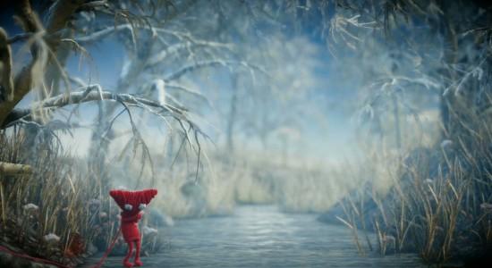 Det kan inte vara lätt för en liten garndocka i vildmarken när kylan tar över.