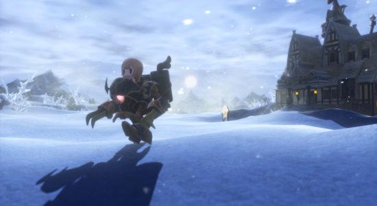Trots minusgraderna och snötäcket är den här bilden full av värme, i alla fall om du minns Final Fantasy VI.