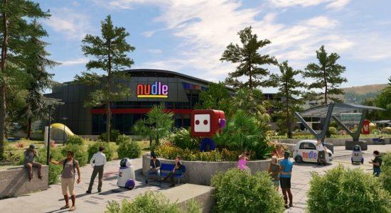 Nudle är spelets motsvarighet till Google, och spelar förstås en stor roll i berättelsen.