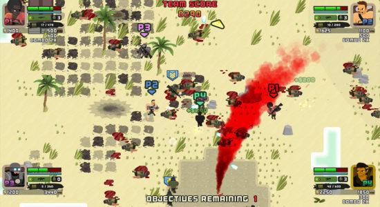 En helt vanlig dag i öknen: massmord och röd rök. Toppen!