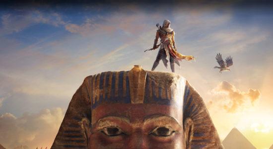 Allt tjat om Abstergo, gör att Anton galant undviker fråga om vem som pajade sphinxens näsa