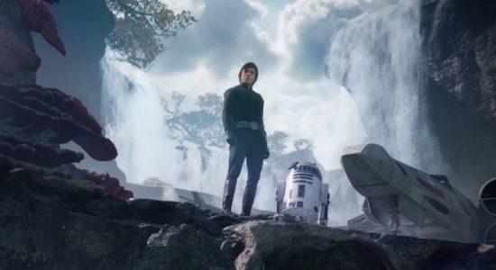 Du förstår Artoo; anledningen till att min pappa inte hade någon far, var att han kom ur en loot box